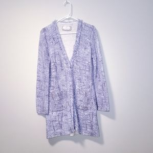 NC Nice Connection Cotton Blue White Cardigan 42